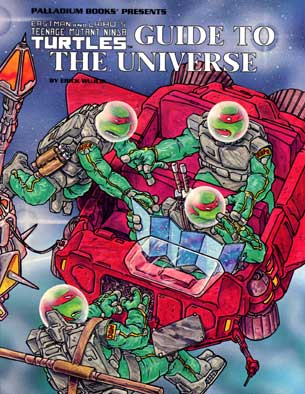 Tmnt rpg 11 after the bomb book 5 mutants in avalon 1991 for Bureau 13 rpg pdf